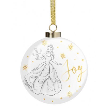 Adorno navideño La Bella y la Bestia Joy