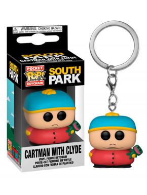South Park Llaveros Pocket POP! Vinyl Cartman w/Clyde 4 cm Expositor (12)