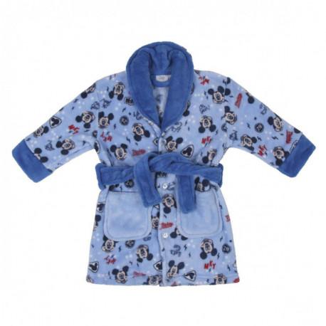 Bata de estar en casa Mickey Mouse azul