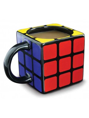 Taza Cubo Rubik 3D
