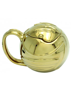 Taza 3D Golden Snitch Harry Potter