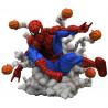 Figura Diorama Spider-Man Marvel Diamond Select 15 cm Bombas Calabaza