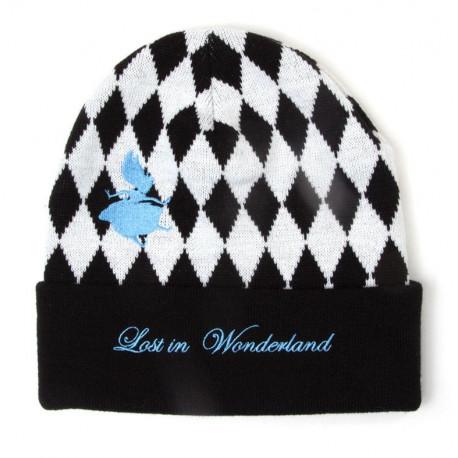 Disney - Alice In Wonderland Checkered Beanie