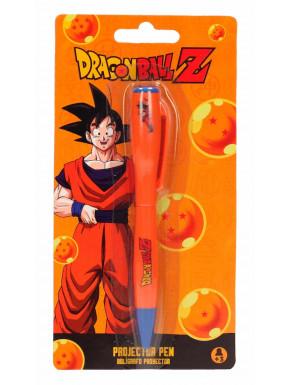Bolígrafo Dragon Ball con Luz Proyector Goku
