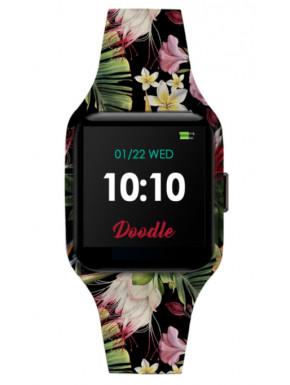 Smartwatch Doodle Flowers