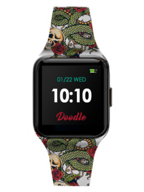 Smartwatch Doodle Snake