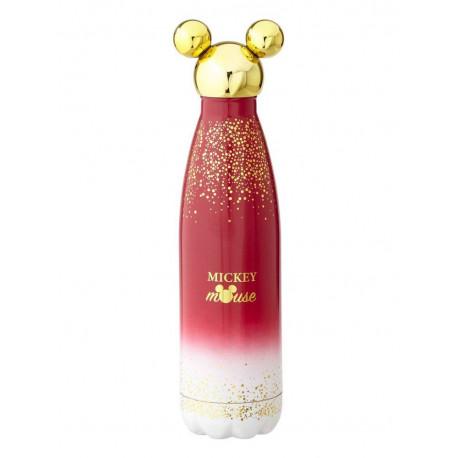 Botella de Agua Mickey Berry Glitter Disney Funko