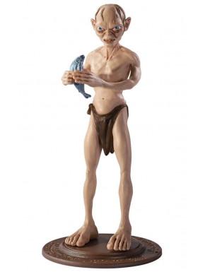 Figura Maleable Gollum El Señor de los Anillos 19 cm