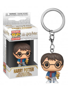 FUNKO POP Keychain: Harry Potter Holiday- Dumbledore