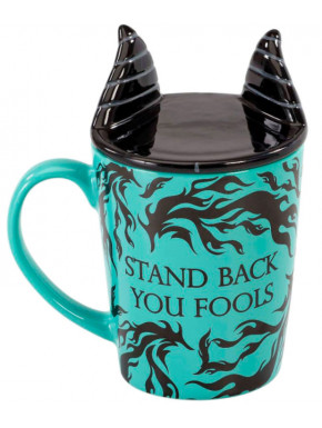 Disney Villains Taza con Posavasos Maleficent
