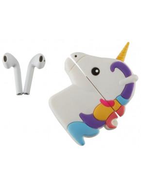 Auriculares TWS Emoji Unicornio