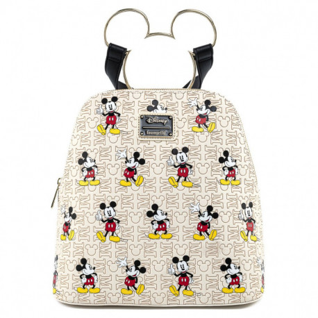 Bolso mochila Mickey gold Loungefly Disney