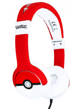 Auriculares Diadema Pokemon Pokeball