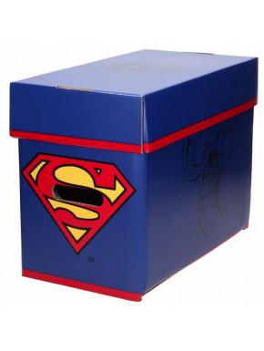 SUPERMAN CAJA CON TAPA  DC COMICS