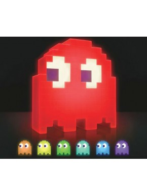 Lámpara LED pac-man comecocos fantasma cambia color