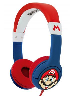 Auriculares Diadema Super Mario