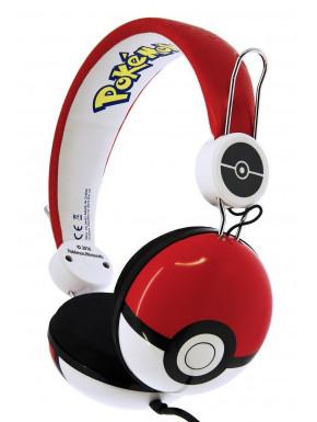 Auriculares Diadema Pokemon Classic Pokeball