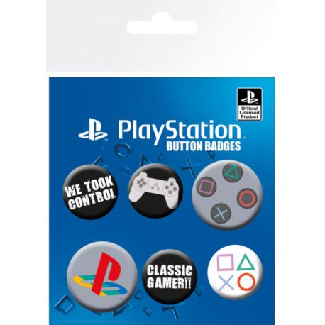 Set de chapas Playstation