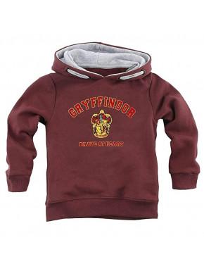 Sudadera infantil Harry Potter Gryffindor Brave