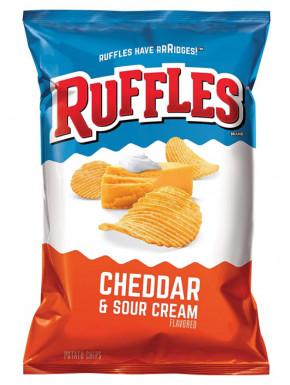 Ruffles sabor Cheddar & Sour Cream