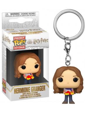 FUNKO POP Keychain: Harry PotterHoliday-Hermione