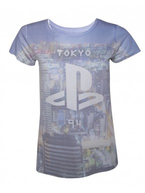 Camiseta chica PlayStation