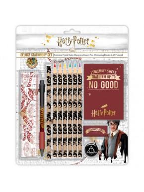 Set de papelería deluxe Harry Potter Símbolos