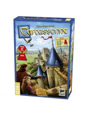 Juego Carcassonne + 2 expansiones