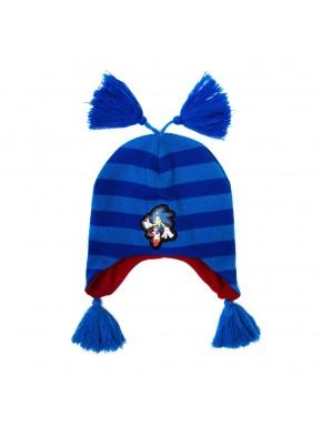 Gorro de Sonic con orejeras