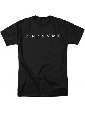 Camiseta Friends Logo Black