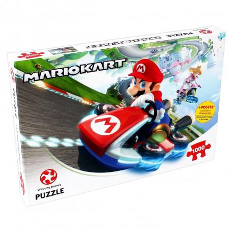 Puzzle Mariokart Nintendo 1000 piezas
