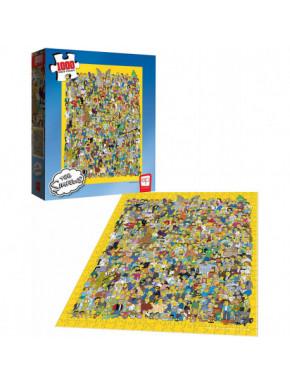 Puzzle Los Simpson Personajes
