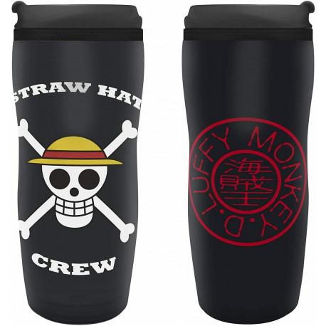 """ONE PIECE - Travel mug """"Luffy"""""""