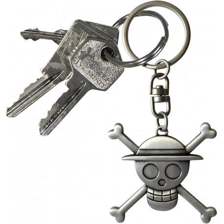 "ONE PIECE - Keychain 3D ""Skull Luffy"" X2"