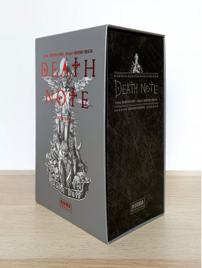 Cofre Libros Death Note Integral