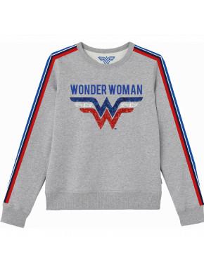 Sudadera Wonder Woman entallada
