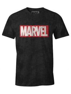 Camiseta Marvel logo vintage