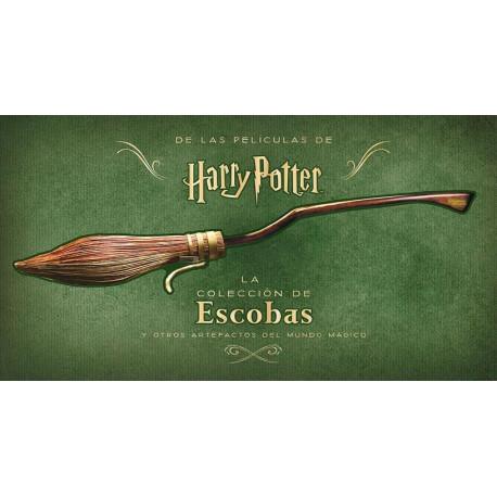 Libro La colección de escobas y otros artefactos Harry Potter