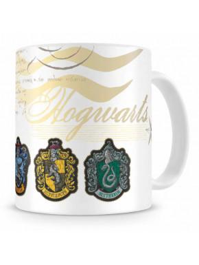 Taza Hogwarts Casas Harry Potter