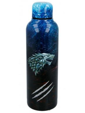 Botella Acero Juego de Tronos Stark