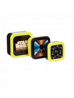 Set de Fiambreras Star Wars Retro Naves