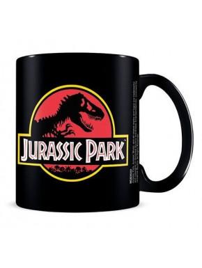 Taza Classic Logo Jurassic Park