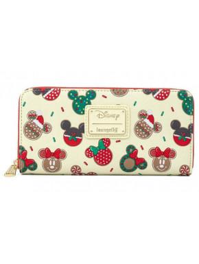 Cartera Loungefly Galletas de Navidad Mickey & Minnie