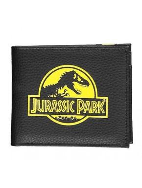 Monedero Bifold Logo Jurassic Park