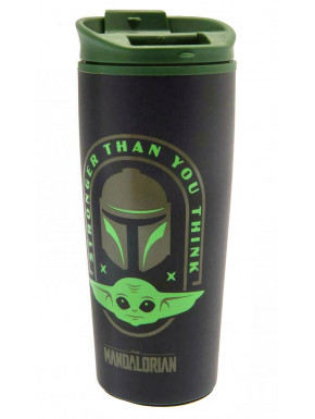 Taza de Viaje Stronger Than You Think Star Wars The Mandalorian