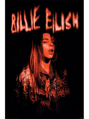Póster Billie Eillish Sparks