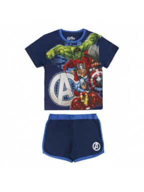 Conjunto camiseta pantalón niño Marvel Avengers