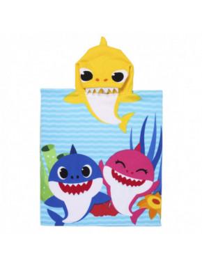 Toalla capa Baby Shark