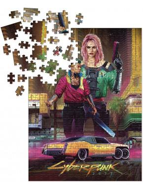 Puzzle CyberPunk 2077 1000 Piezas