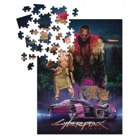 Puzzle CyberPunk 2077 1000 Piezas Neokitsch